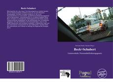 Borítókép a  Beck+Schubert - hoz
