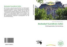 Capa do livro de Beckedorf (Landkreis Celle)