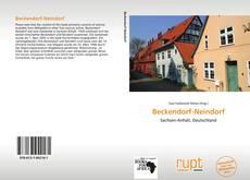 Capa do livro de Beckendorf-Neindorf