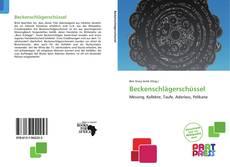 Portada del libro de Beckenschlägerschüssel