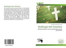 Borítókép a  Becklingen War Cemetery - hoz