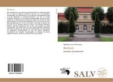 Bookcover of Beckum