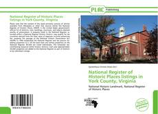 Buchcover von National Register of Historic Places listings in York County, Virginia
