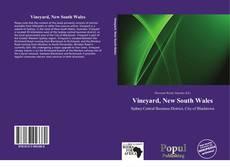 Bookcover of Vineyard, New South Wales