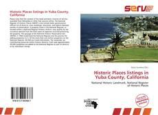 Buchcover von Historic Places listings in Yuba County, California