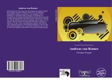 Обложка Andreas von Renner
