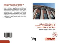 Обложка National Register of Historic Places listings in Yuma County, Arizona