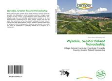 Copertina di Wysokie, Greater Poland Voivodeship