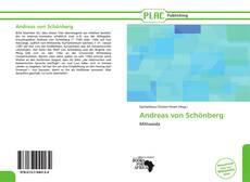 Обложка Andreas von Schönberg