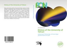 Bookcover of History of the University of Tehran