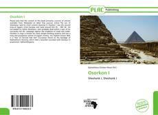 Bookcover of Osorkon I