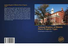 Обложка National Register of Historic Places Property Types