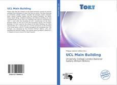 Buchcover von UCL Main Building