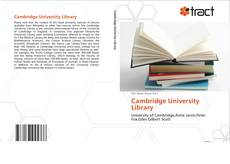 Copertina di Cambridge University Library