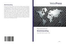 Bookcover of Watchstanding