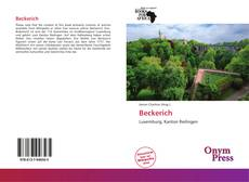 Bookcover of Beckerich