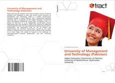 Bookcover of University of Management and Technology (Pakistan)