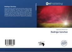 Capa do livro de Rodrigo Sánchez