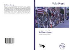 Bookcover of Beckham County