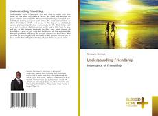 Capa do livro de Understanding Friendship