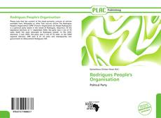 Portada del libro de Rodrigues People's Organisation