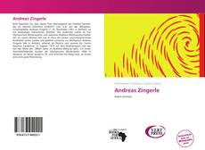 Andreas Zingerle kitap kapağı