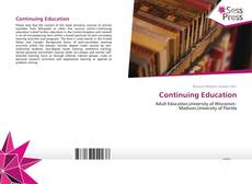 Bookcover of Continuing Education