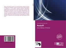 Rodulff的封面