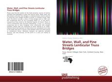 Buchcover von Water, Wall, and Pine Streets Lenticular Truss Bridges