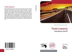 Copertina di Team Lazarus
