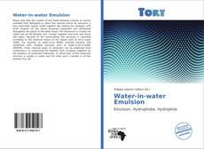 Bookcover of Water-in-water Emulsion