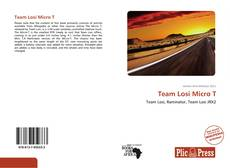 Bookcover of Team Losi Micro T