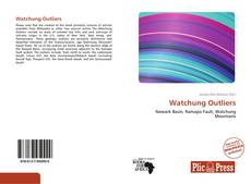Bookcover of Watchung Outliers