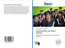 Portada del libro de University of Novi Pazar