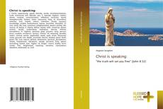 Capa do livro de Christ is speaking: