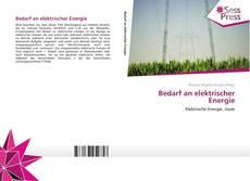 Buchcover von Bedarf an elektrischer Energie