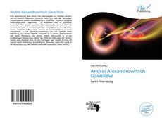 Andrei Alexandrowitsch Gawrilow的封面