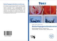 Capa do livro de Bedarfsgegenständeverordnung