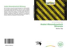 Bookcover of Andrei Alexandrowitsch Mironow