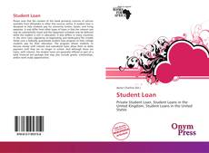 Bookcover of Student Loan