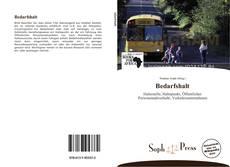 Capa do livro de Bedarfshalt