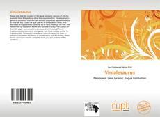 Vinialesaurus kitap kapağı