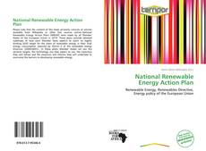 Capa do livro de National Renewable Energy Action Plan