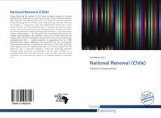 Bookcover of National Renewal (Chile)
