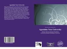Capa do livro de Agostinho Neto University