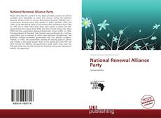Bookcover of National Renewal Alliance Party