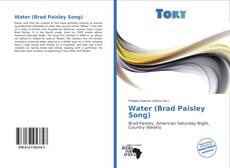 Bookcover of Water (Brad Paisley Song)