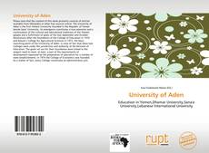 Couverture de University of Aden