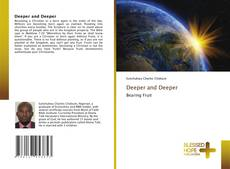 Capa do livro de Deeper and Deeper