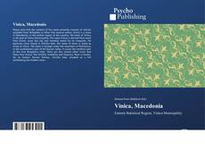 Bookcover of Vinica, Macedonia